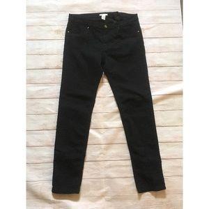 H&M Black Skinny Stretch Pants with Pockets